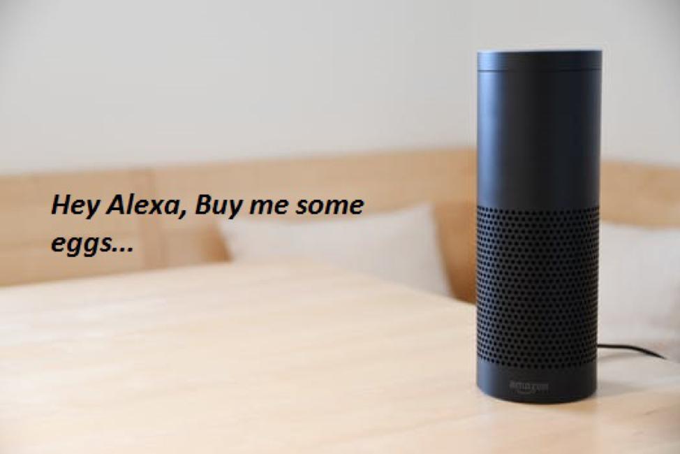 Búsqueda por voz con Alexa